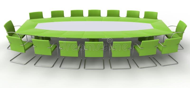 bureau de meubles illustration libre de droits