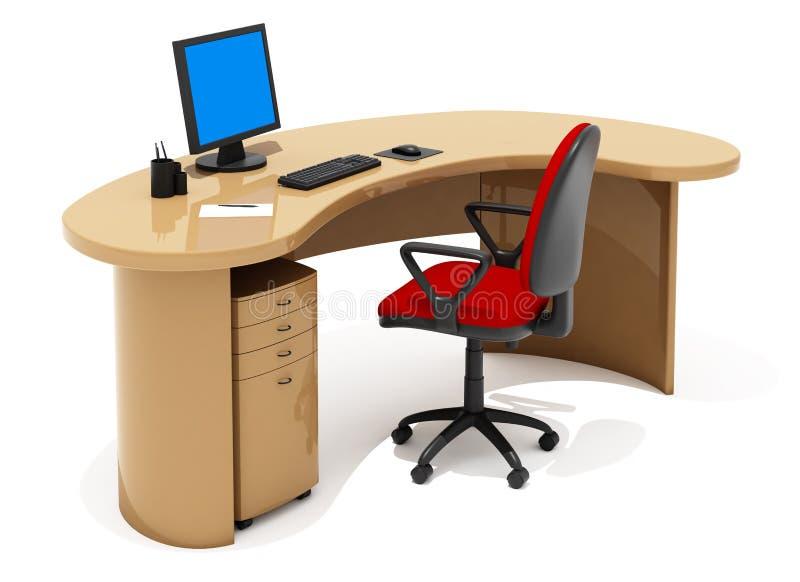 bureau de meubles photographie stock libre de droits