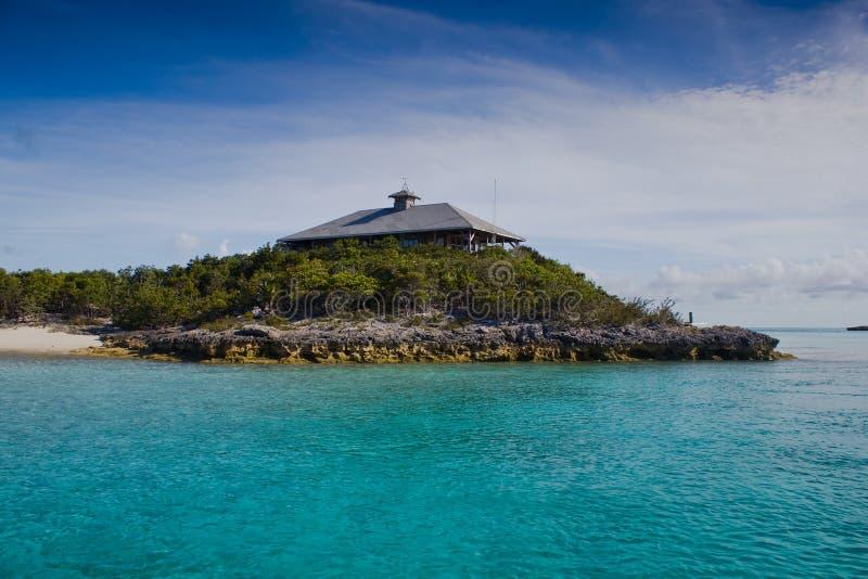 Bureau de parc national, Bahamas photographie stock libre de droits