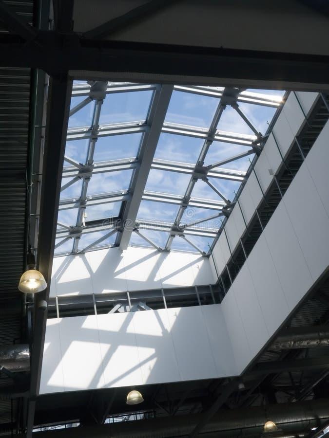 bureau de plafond de construction photo libre de droits