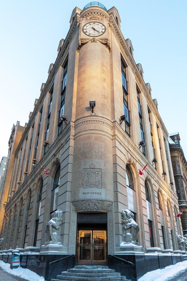 Bureau de poste d'Ottawa images libres de droits