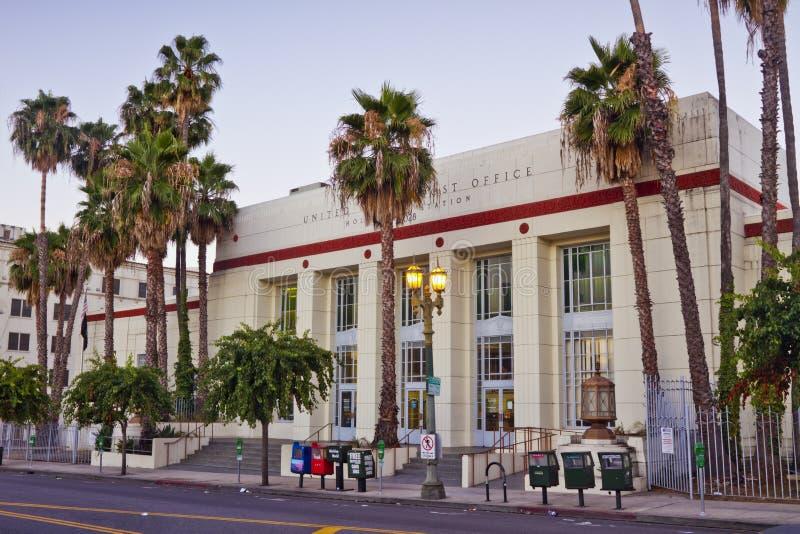 Bureau de poste des Etats-Unis, gare de Hollywood photographie stock