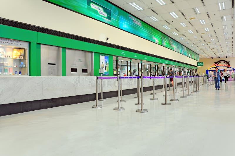 Bureau de poste général, Hong Kong photographie stock