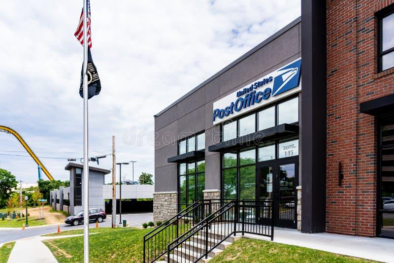 Bureau de poste de Hershey image stock