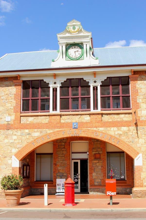 Bureau de poste historique à York, Australie occidentale photo libre de droits