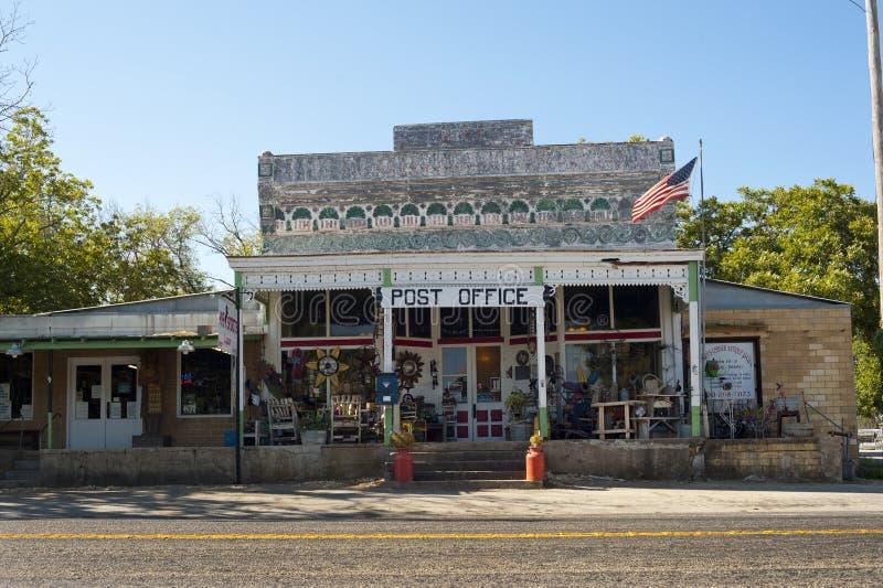 Bureau de poste rural dans le Texas image libre de droits