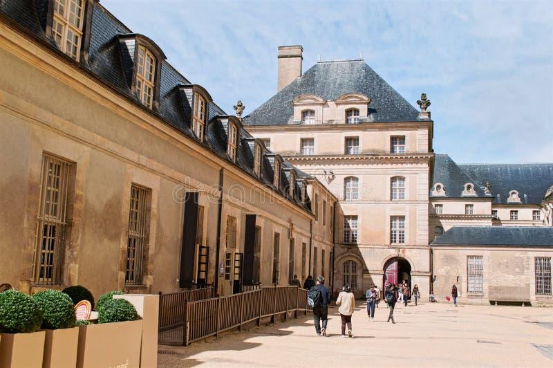 Bureau de Theticket dans la résidence nationale d'Invalids à Paris image libre de droits