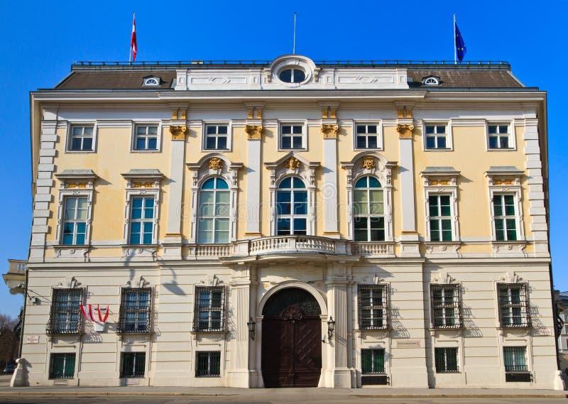 Bureau du chancelier fédéral de l'Autriche images stock