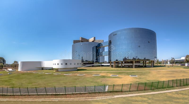 Bureau fédéral de poursuite, le Procureur Général General du siège social de République - PGR - Brasilia, Brésil photo libre de droits