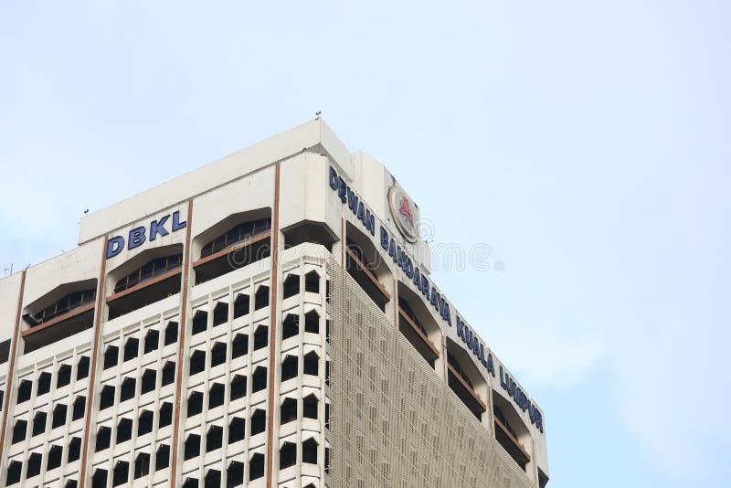 Bureau Kuala Lumpur Malaysia d'hôtel de ville image libre de droits