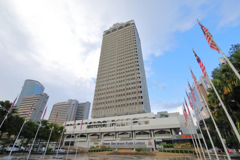 Bureau Kuala Lumpur Malaysia d'hôtel de ville photos stock
