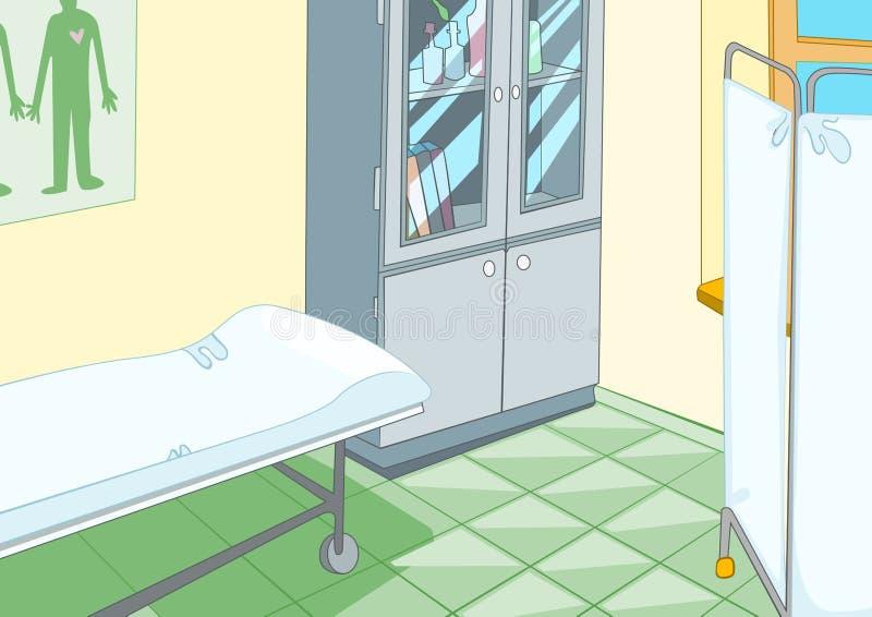 Bureau médical illustration libre de droits