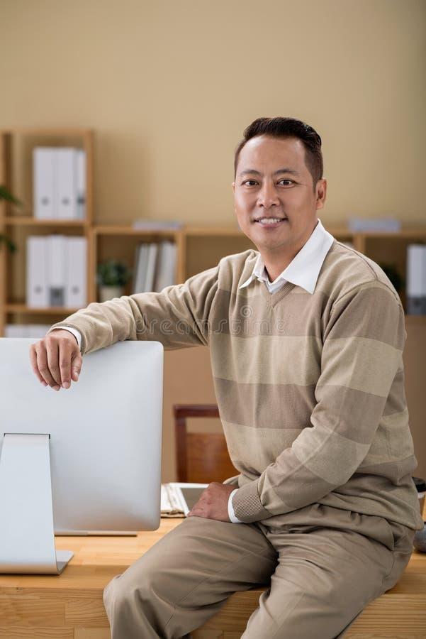 Bureau Manager images libres de droits