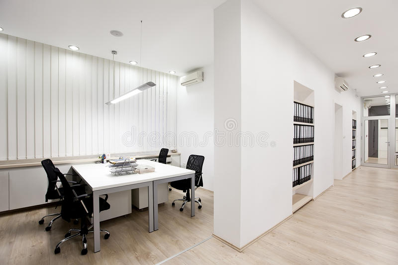 Bureau moderne photographie stock