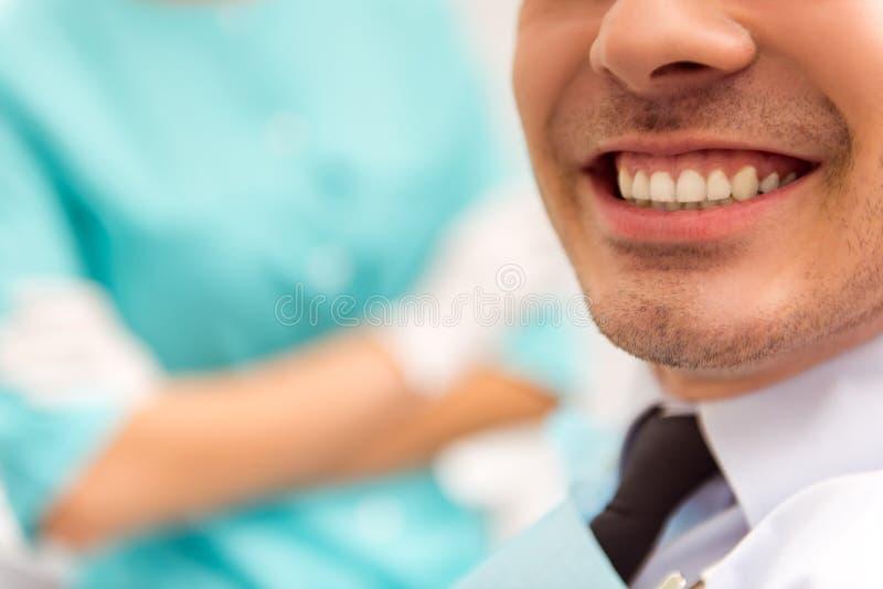 Bureau professionnel de dentiste image libre de droits