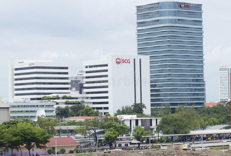 Bureau Siam Cement Group (SCG) image libre de droits