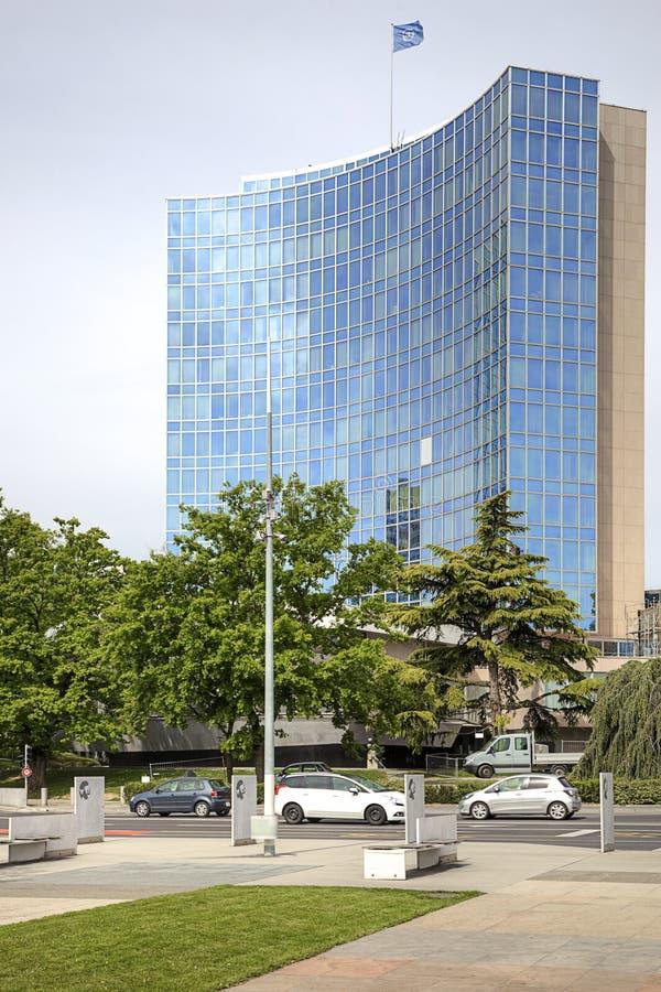 Bureau van de Verenigde Naties stock foto