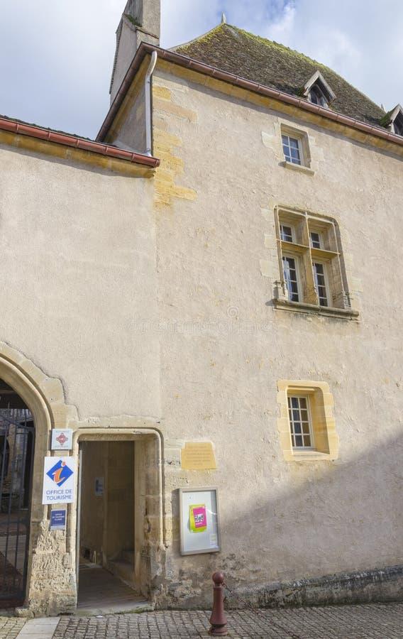 Bureau van Toerisme in Charolles, Bourgondië, Frankrijk royalty-vrije stock afbeeldingen