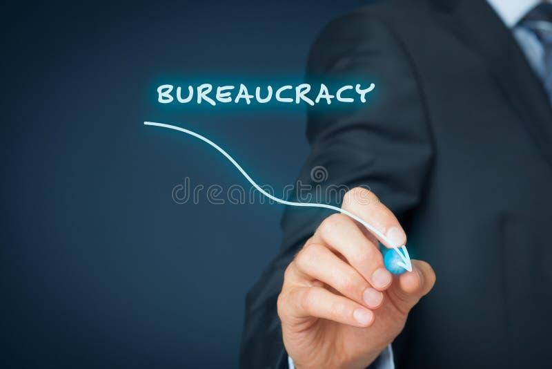 Bureaucracy reduction stock photo