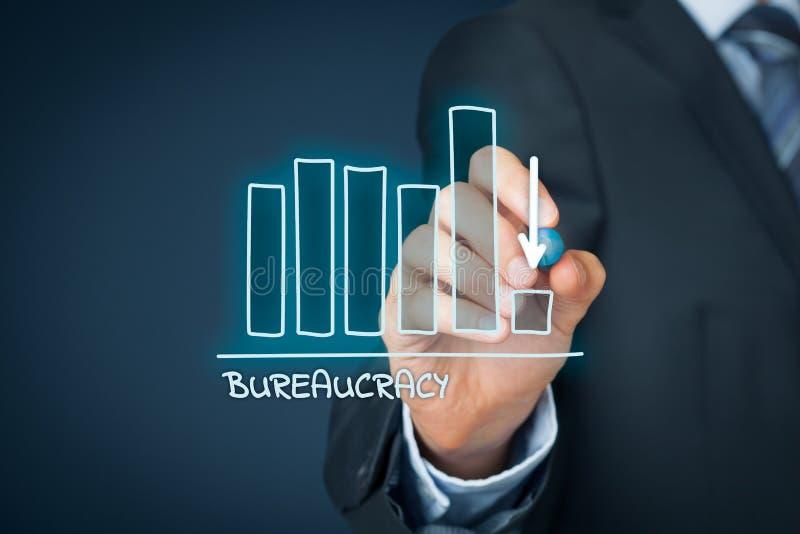 Bureaucracy reduction royalty free stock photography
