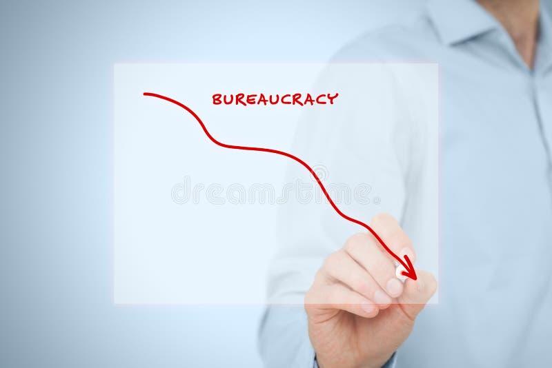 Bureaucracy reduction royalty free stock photos