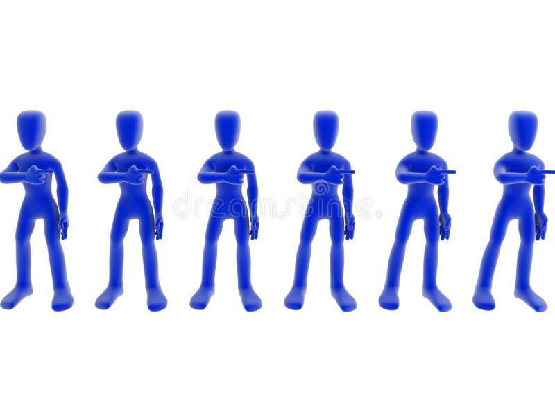 Bureaucratie vector illustratie