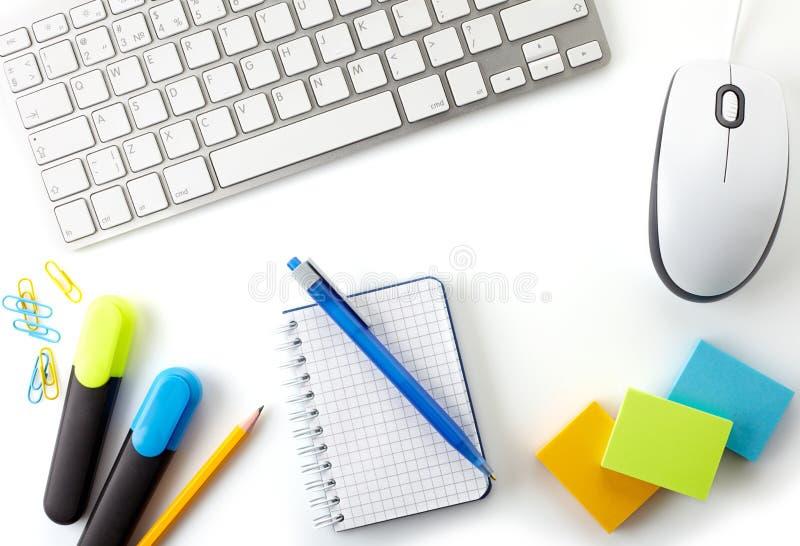Bureaudesktop stock afbeelding