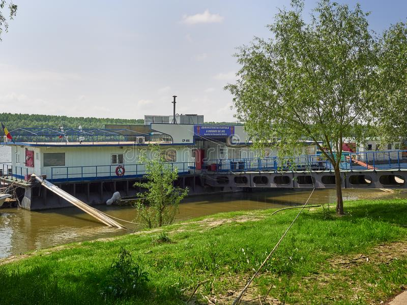 Bureaus van Lager Donau de Rivierbeleid van Galati in Braila, Roemenië stock foto