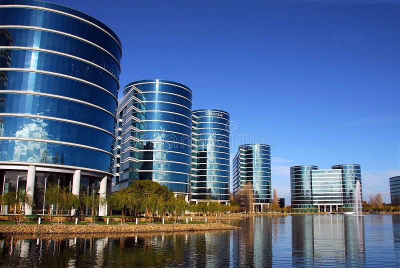 Bureaux de corporation d'Oracle photos stock