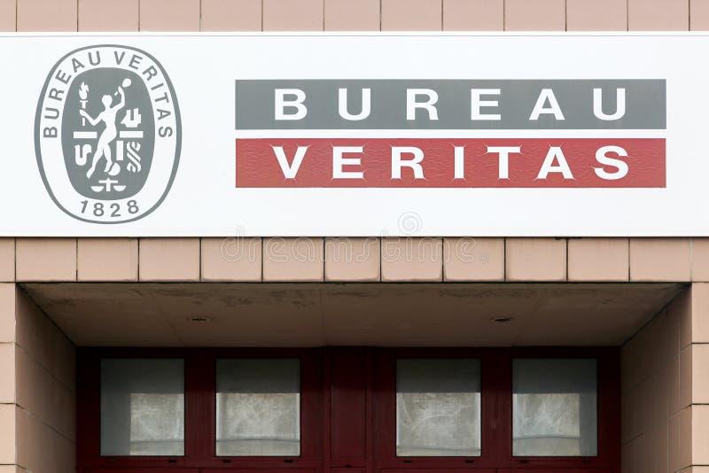 Bureaux de Veritas de bureau photographie stock