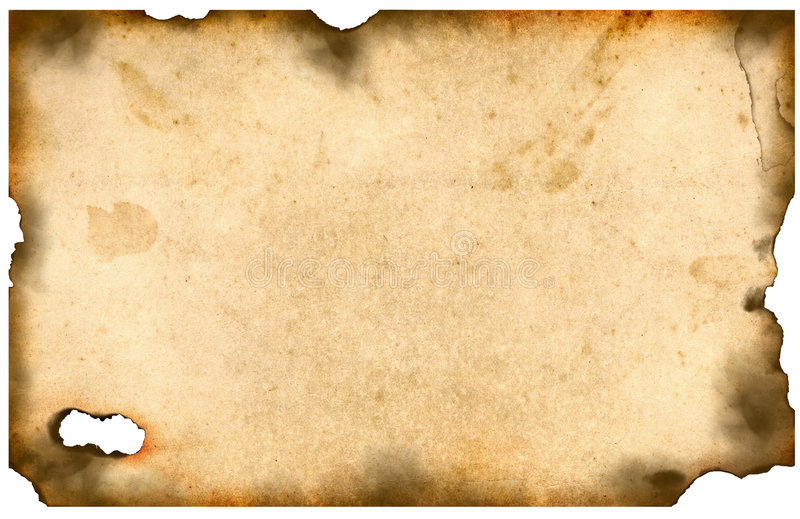 bured gammalt papper royaltyfri foto