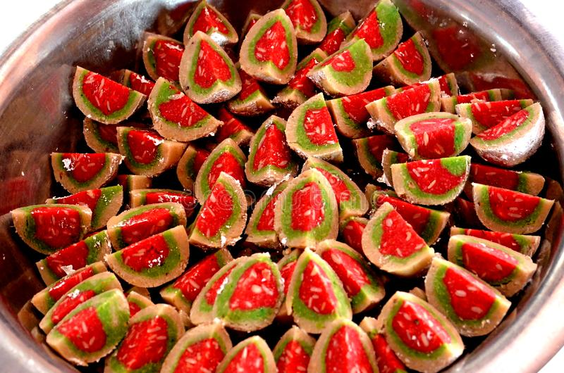 Burfi barfi бенгальского mithai индийское сладостное стоковое фото rf