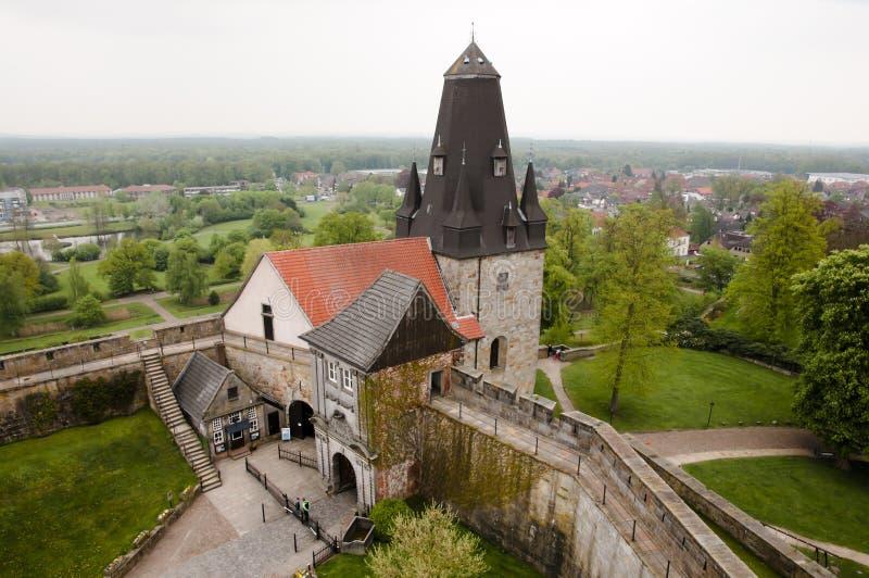 Burg Bentheim - cattivo Bentheim - Germania immagini stock