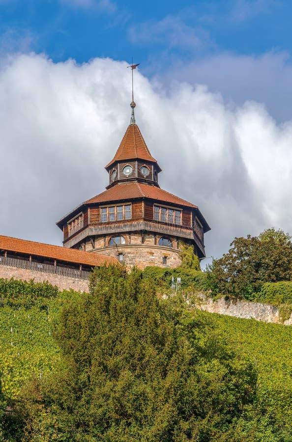 Burg de château d'Esslingen, Allemagne images stock