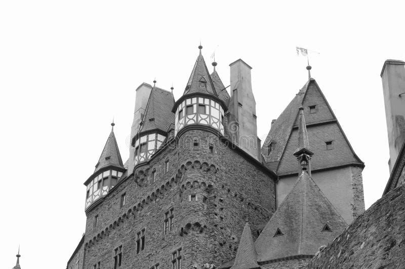 Burg Eltz, Allemagne : Détails du beau château d'Eltz image libre de droits