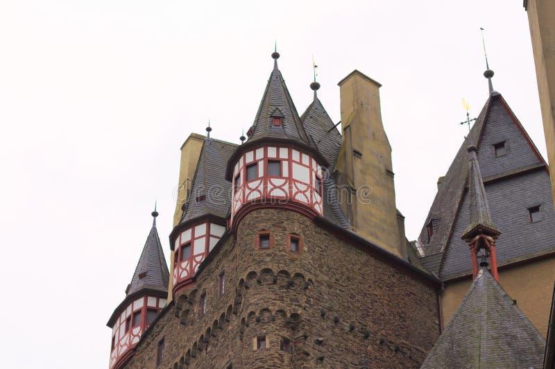 Burg Eltz, Allemagne : Détails du beau château d'Eltz photos stock