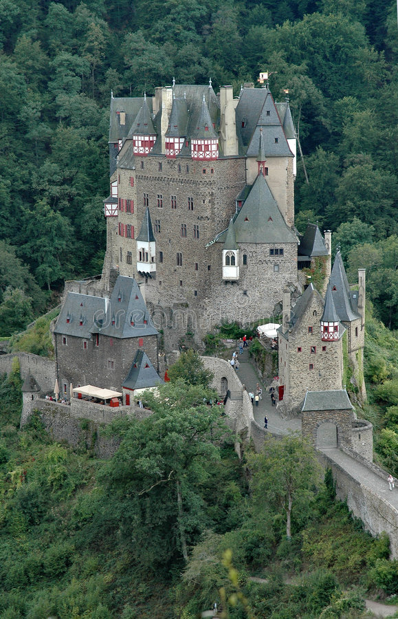 Download Burg Eltz Historic Castle Situated On The Elz River In Germany - Vertical Format Stock Image - Image of storybook, medieval: 283501