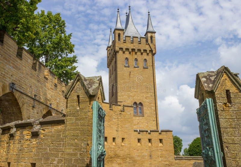 Burg Hohenzollern Castle, Swabian Alp, Germany,. Burg Hohenzollern Castle, Swabian Alp, Baden-Wuerttemberg, Germany Europe stock photos