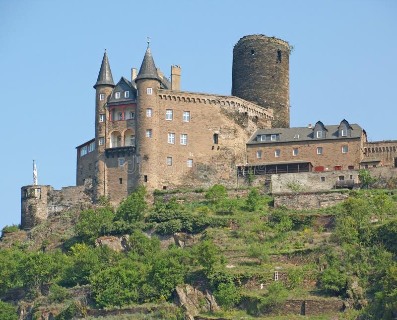 Burg Katz lizenzfreie stockfotografie