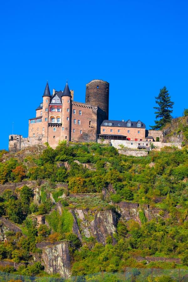 Burg Katz, Allemagne photo libre de droits