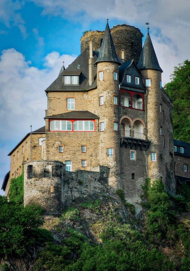 Burg Katz stock photo