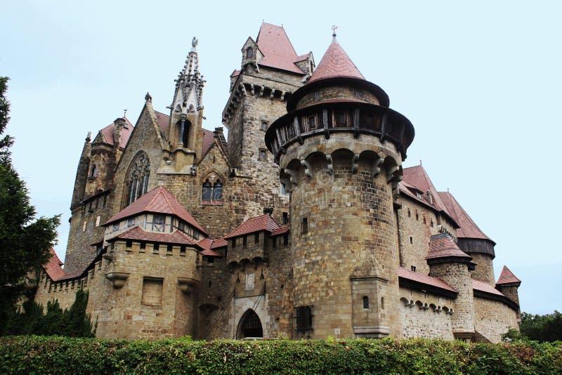 Burg Kreuzenstein Castle royalty free stock image