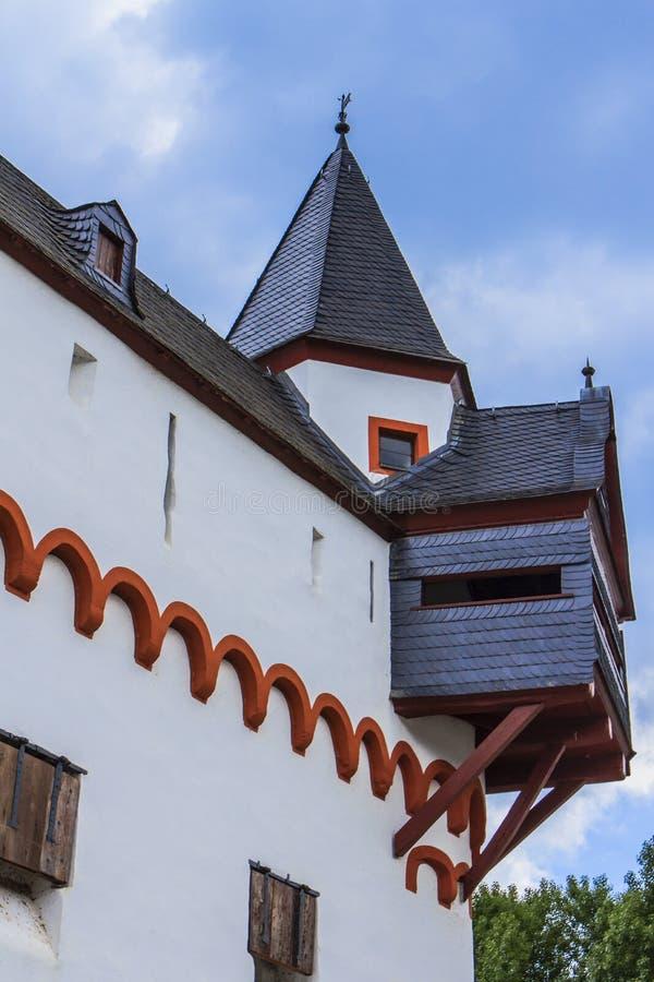 Burg Pfalzgrafenstein fotografie stock