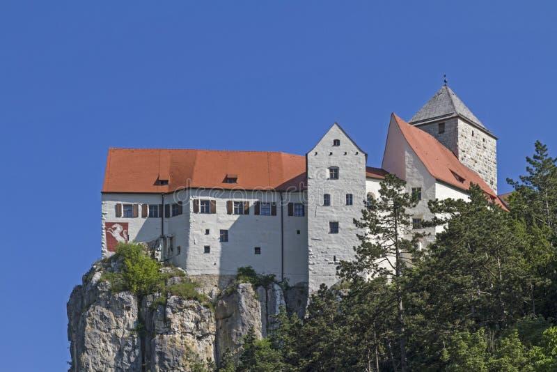 Burg Prunn im Altmühltal fotografia de stock