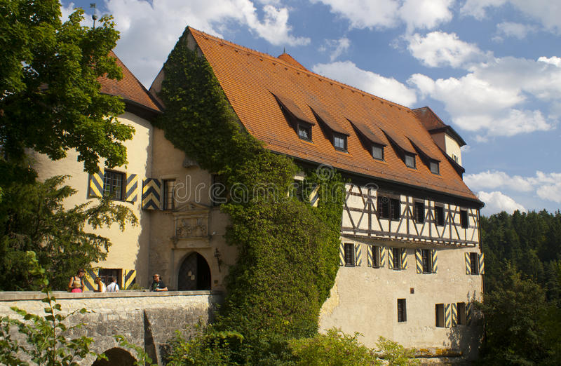 Burg Rabenstein royalty free stock image