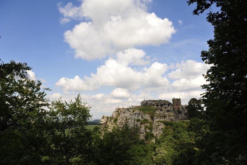Burg Regenstein. In Sachsen Anhalt,Germany stock images