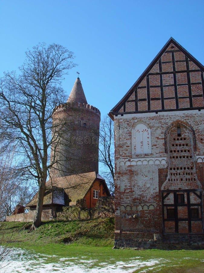 Burg Stargard photos libres de droits