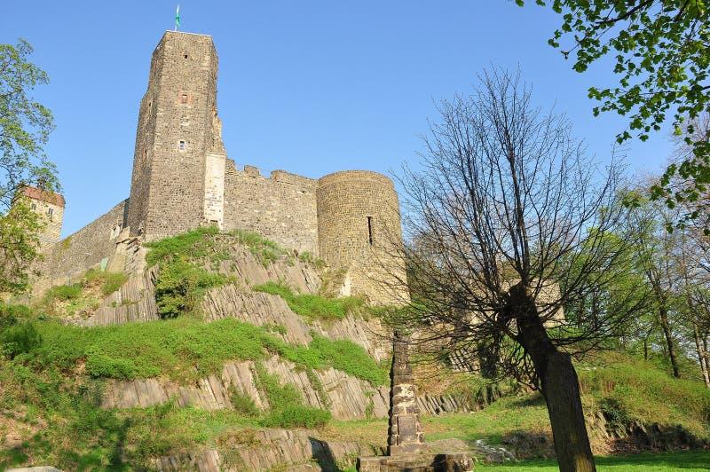 Burg Stolpen. Alte burg in stolpen sachsen royalty free stock photography