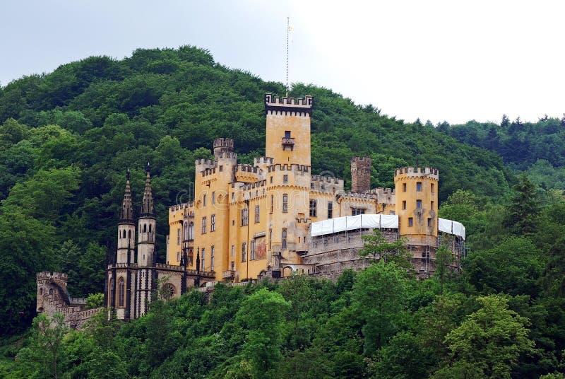 Burg Stolzenfels fotografie stock libere da diritti
