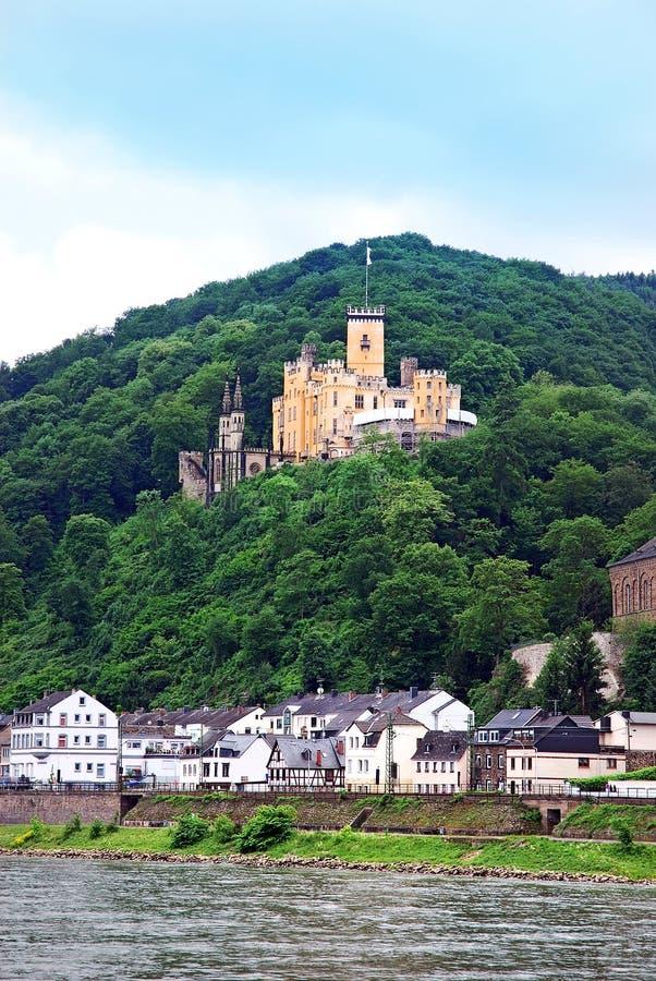 Burg Stolzenfels stock afbeelding